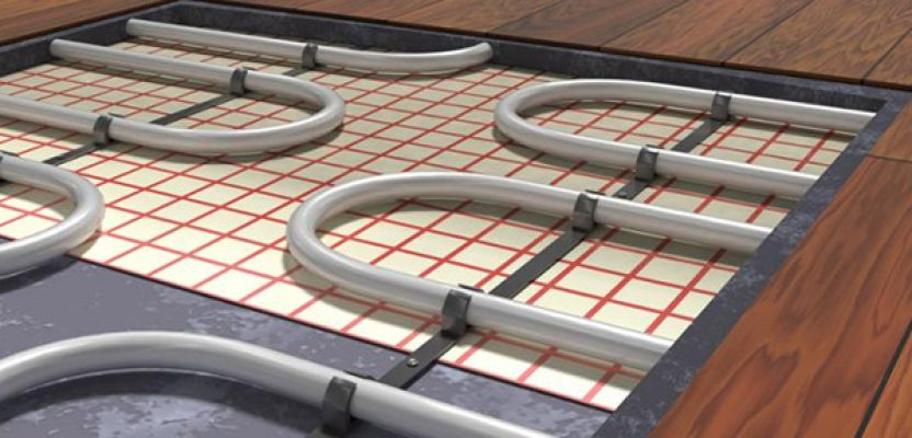 How radiant floor heating can keep your room and home warm