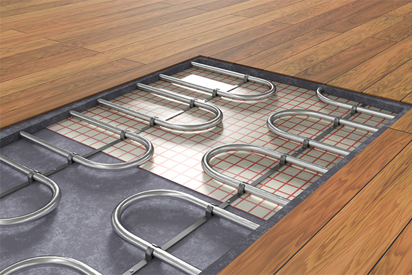 How radiant floor heating works in your home