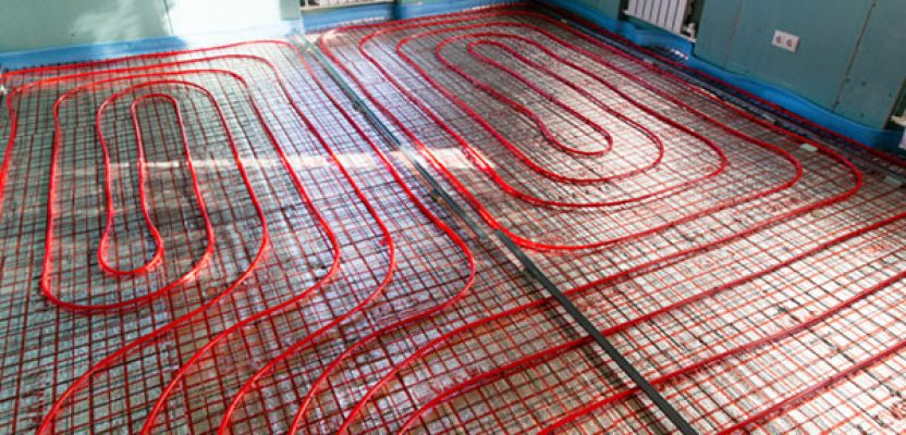 Several benefits of radiant floor heating